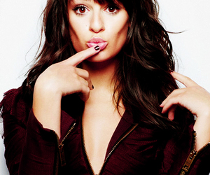 lea michele, glee, and rachel berry image