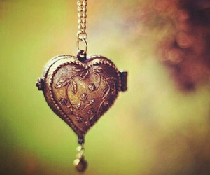 heart, necklace, and locket image