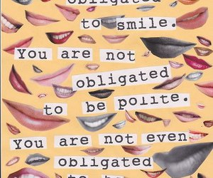 smile, quote, and nice image