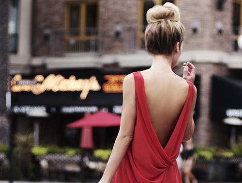 blonde, fashion, and gown image