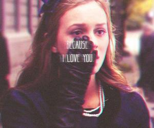 love, gossip girl, and leighton meester image