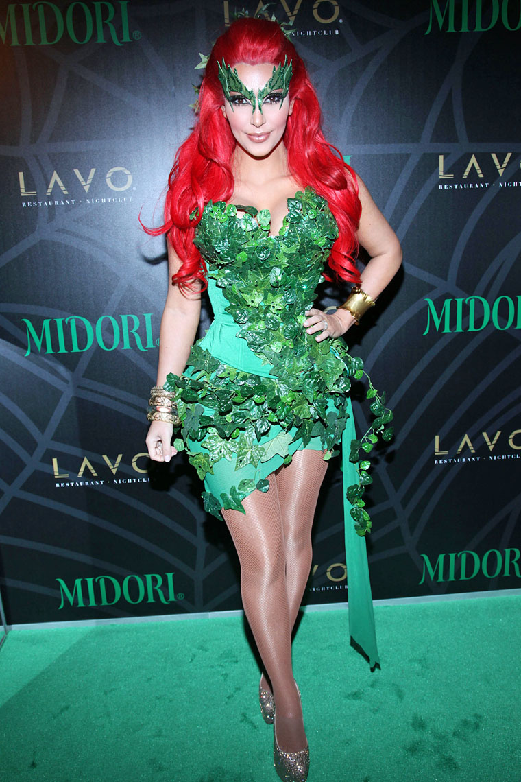 Kim Kardashian Joins Batman's Rogues' Gallery in Poison Ivy ...