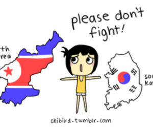 korea, north korea, and south korea image