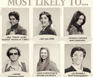 that 70s show, fez, and kelso image