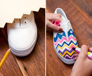 shoes, diy, and colors image