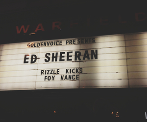 ed sheeran, concert, and music image