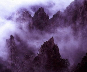 mountains, fog, and photography image