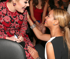 beyoncé, Adele, and smile image