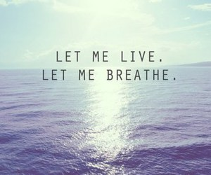 quotes, live, and breathe image