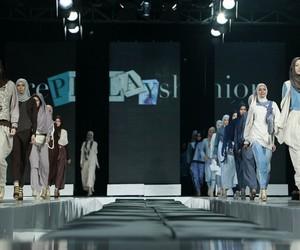 fashion, islam, and headscarf image