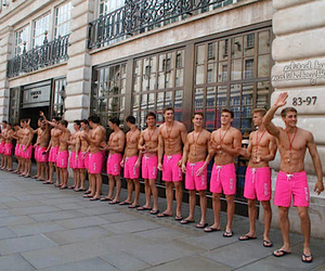 boy, pink, and Hot image