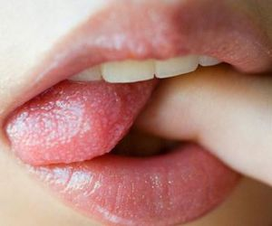 lips, sexy, and mouth image