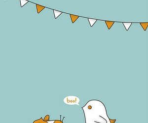 bird, boo, and bunting image