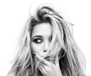 olsen and black and white image