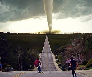 skate, boy, and tornado image