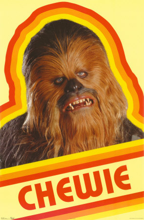 chewbacca, chewie, and Skywalker image