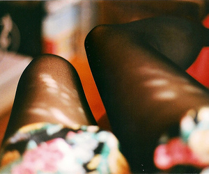 legs, girl, and tights image