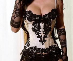 black, body, and corset image