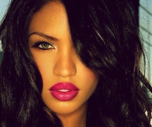 cassie, lips, and beauty image