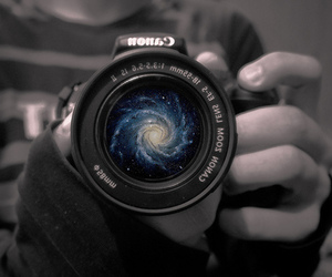 camera, galaxy, and canon image
