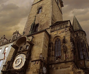 architecture, building, and clock image