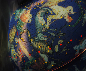 astrology, constellations, and globe image