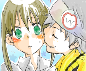 couples, soul eater, and chu image