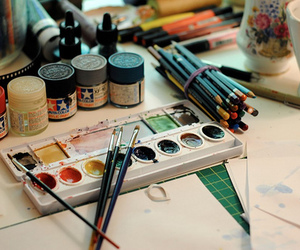 colours, watercolor, and indie image