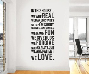 house and love image