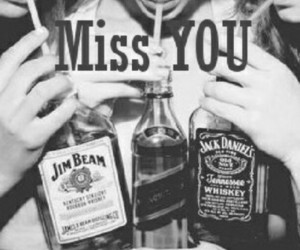 alcohol, girls, and jack daniels image