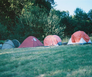 tents and vintage image