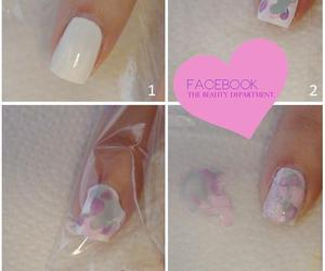 nails, diy, and tutoriales image