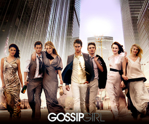 gossip girl, blair, and serena image