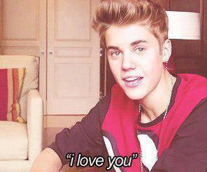 justin bieber, I Love You, and justin image