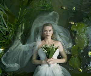 Justine, melancholia, and movie image