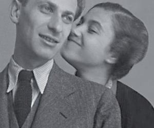 black and white, boy, and couple image