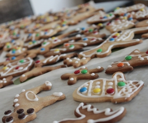 ikea, gingerbread, and m&m image