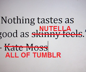 funny, nutella, and tumblr image