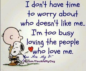 love, quote, and snoopy image