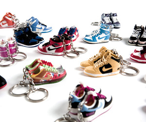 dope, fresh, and sneaker key chains image