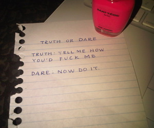 funny, truth or dare, and cute image