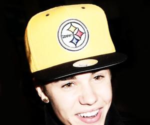 justin bieber, smile, and boy image