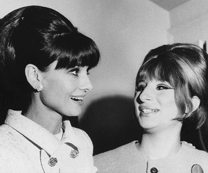 audrey hepburn, barbra streisand, and picture image