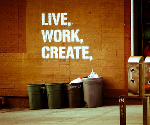 create, live, and quote image