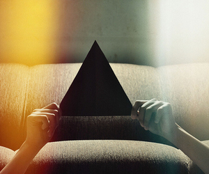 triangle, hipster, and hands image