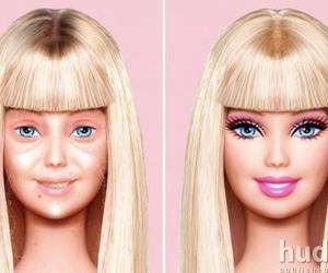 barbie, makeup, and make up image