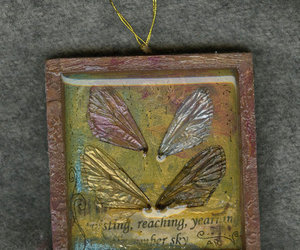 butterfly, Cicada, and faerie image