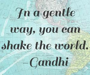 gandhi, quote, and world image