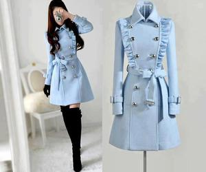 blue and coat image