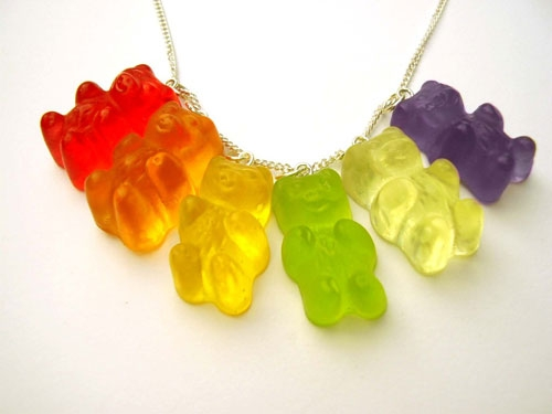 candy, gummy bears, and sweet image